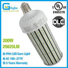 200 watt hps light 135 lumens per watt ul listing 200 watt pc cover mogul base led corn