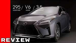 lexus rx 450h top gear review 2016 lexus rx 350 f sport full review youtube