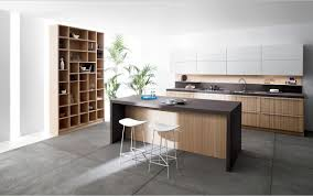 kitchen decorating ideas using rectangular modern brown and black
