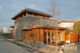 753 sq ft net zero energy solar house in british columbia by
