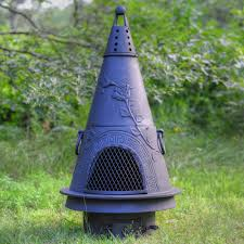 Outdoor Fireplace Chiminea Garden Style Cast Iron Outdoor Fireplace Chiminea Chimenea