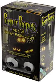 animated halloween lights amazon com peep n u0027 peepers flashing eyes halloween lights