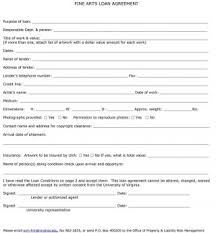 40 free loan agreement templates word u0026 pdf template lab