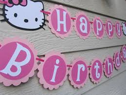 printable hello kitty birthday party ideas hello kitty birthday banner template hello kitty party continued