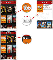 how to use the my list feature in netflix to save movies and shows