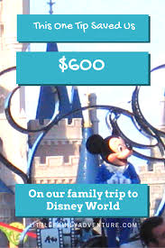 Save Money On Disney World This One Tip Saved Us Money On Vacation 593 To Be Exact Page