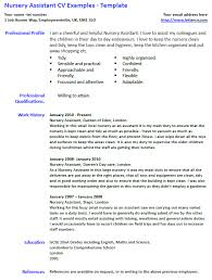 cv templates for teaching assistants cv for nursery assistant roberto mattni co