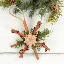 how to make rustic ornaments tree decorations