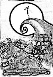 printable coloring pages nightmare before christmas