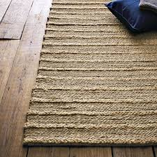 Braided Jute Rugs Jute Rugs Top Mauihand Woven Jute With Wool Fringe Nt Rug With