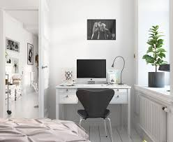 bright scandinavian decor in 3 small one bedroom apartments