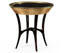 black and gold side table stepped gilt circular side table pavilion broadway
