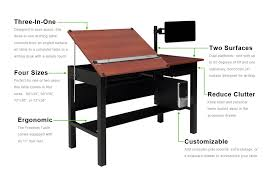 Cad Drafting Table Freedom Drafting Table At 72 X36 48 Tilting Surface And A 24