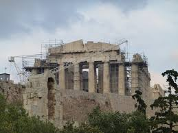 Parthenon Interior Christopher U0027s Expat Adventure The Acropolis