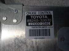 cruise toyota camry 96 toyota camry cruise computer 88240 33070 32651 ebay