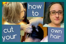 ponytail haircut technique cut your own hair ponytail method youtube