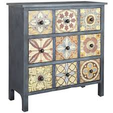 nightstand exquisite gold mirrored nightstand pier one console