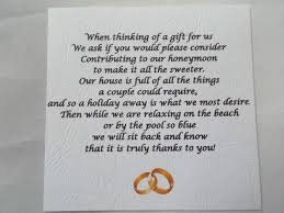 wedding gift money poem wedding no gifts money preferred poem picture ideas references