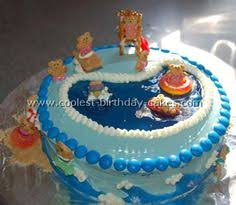 25 pool party cakes that make a splash cake summer and pool