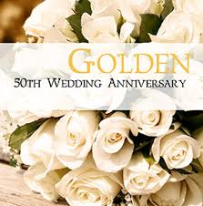 50 wedding anniversary golden 50th wedding anniversary cards funky pigeon