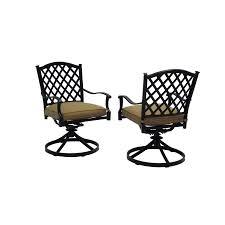 Swivel Patio Dining Chairs Balcony Height Swivel Rocker Patio Chairs Patio Decoration