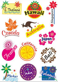 travel stickers images Top fashion luggage travel stickers for suitcases decors signs jpg