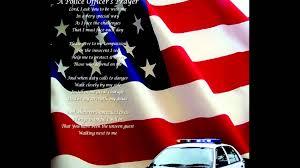 Fallen Officer Flag An Officers Prayer Youtube
