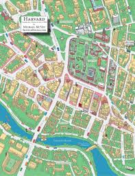 Harvard Campus Map August 2010 Michael Mcvey Skiffleboom