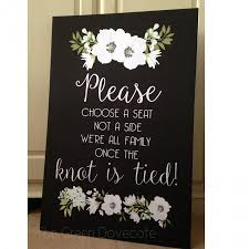 wedding seating signs choose a seat sign wedding seating sign a seat
