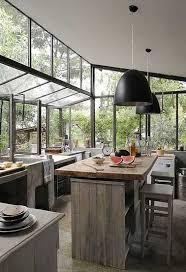 cuisine de jardin en cuisine verrière 12 cuisines lumineuses ouvertes sur le jardin