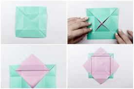 How To Make A Box With Paper - origami masu box step by step
