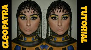 halloween body paint cleopatra makeup and body paint tutorial rae of sunshine beauty