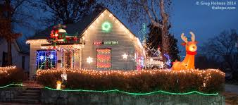 the lope christmas lights of webb city missouri updated for 2015