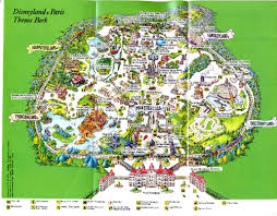 printable map disneyland paris park park maps