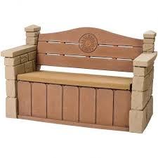 Garden Storage Bench Wooden 10 Functional Outdoor Storage Benches Rilane