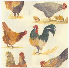 decoupage napkins of farm yard chickens u2013 chiarotino