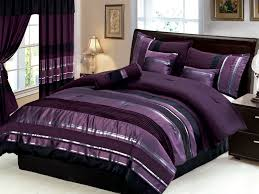 bedroom curtain and bedding sets black and purple comforter sets light purple curtains black and