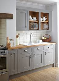 design item kitchen of the week serene painted and grey