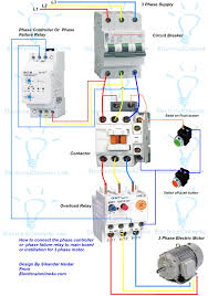 phase failure relay controller instilaion in 3 main mesmerizing