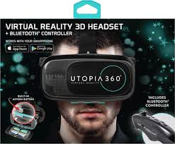 target black friday vr goggles retrak utopia 360 virtual reality headset with bluetooth
