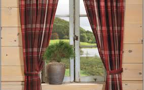 Grey Red Curtains Curtains Grey Plaid Curtains Certain 96 Inch Blackout Curtains