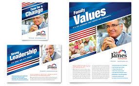 political campaign flyer u0026 ad template word u0026 publisher