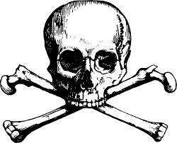 skull u0026 crossbones free download clip art free clip art on