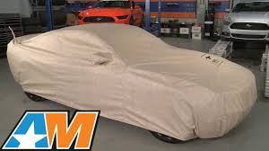 car cover for mustang mustang covercraft deluxe custom fit car cover 50th anniversary