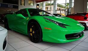 Ferrari 458 Green - happy st paddy u0027s day green machine photo thread page 2