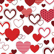 heart wrapping paper xoxo wrapping paper 40ft roll health