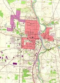 Map Of Ohio State by Ohio Road Maps City Street Maps With Oh Travel Directions Print