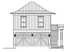 garage plans with storage tudor style 2 car garage plan with