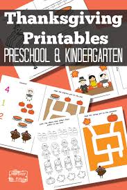thanksgiving preschool pack itsy bitsy