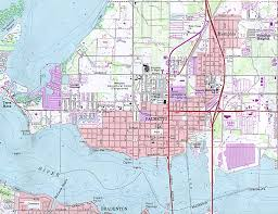 Pensacola Florida Map by Florida Map Finder 100 Florida State Maps